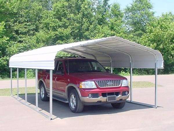Temporary Garages For Large Trucks : The best way to install your portable garage give me shelter