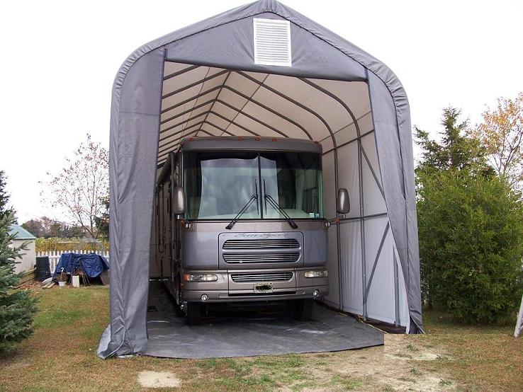Protect Your Vehicle from Hail with a Portable Garage ...
